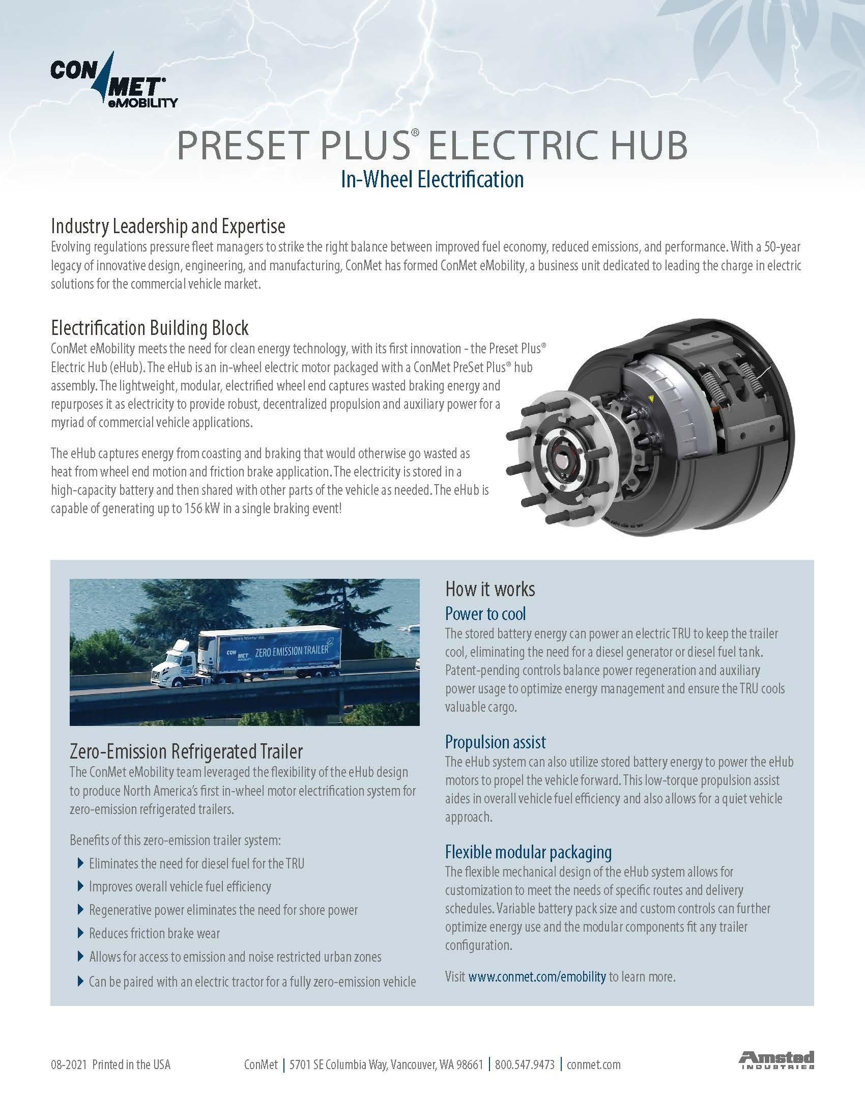 eHub Product Flyer